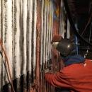 Visy Paper Mill Power boiler panels replacement